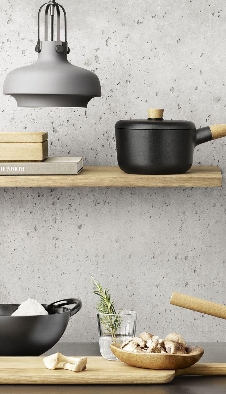 Nordic kitchen køkkenserie fra Eva Solo #inspirationdk #køkken #køkkenudstyr #EvaSolo #NordicKitchen