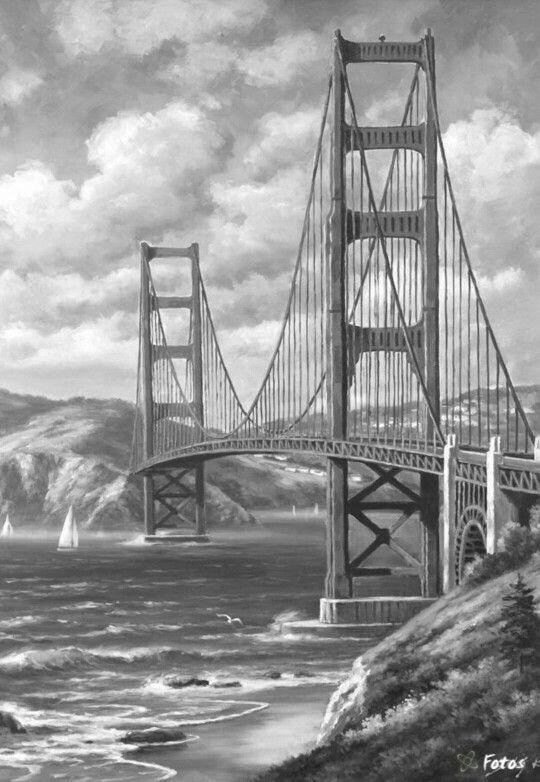 25 best ideas about Bridge drawing