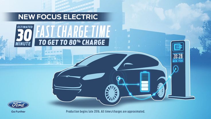 Updated 2017 Ford Focus Electric to get DC fast charging and 100-mile range