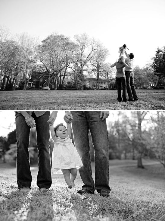 I love every single photo in this session! This sweet photos with the parents, the lighting, close ups of baby ... all of it.