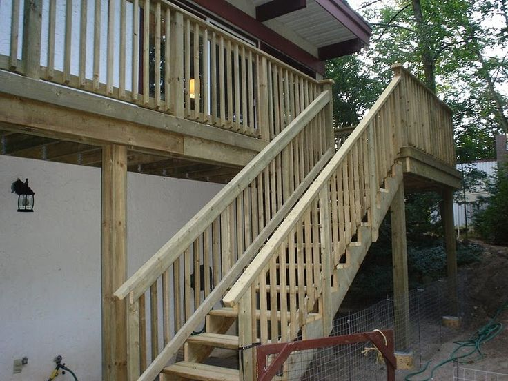 1000 images about deck stairs on pinterest the area for Easy stairs diy