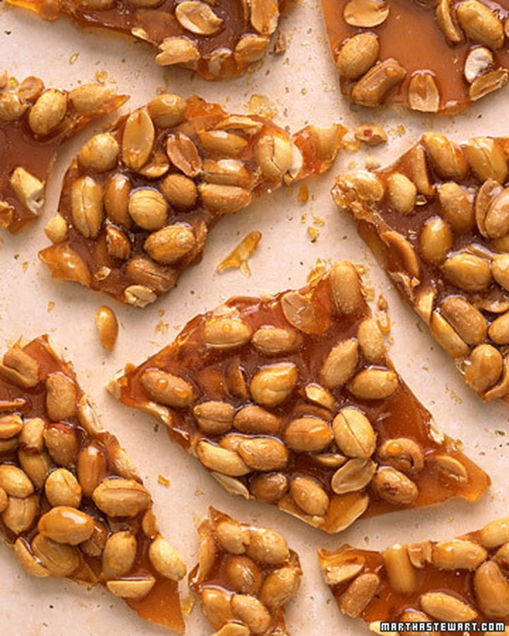 how to make peanut butter brittle without peanuts