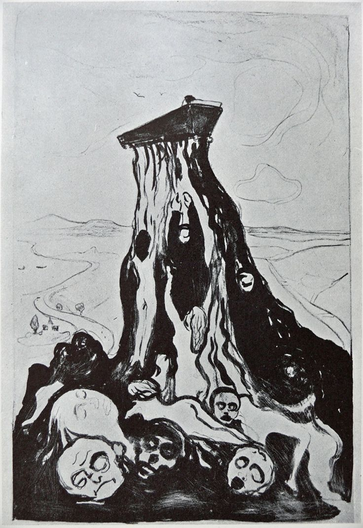 Edvard Munch - Funeral March (used for sleeve of Funeral Pyre)