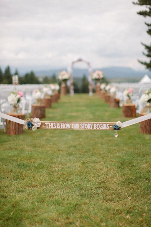 I like the message with this, so often we see the wedding as the end of the fairy tale, when really it is just the beginning!