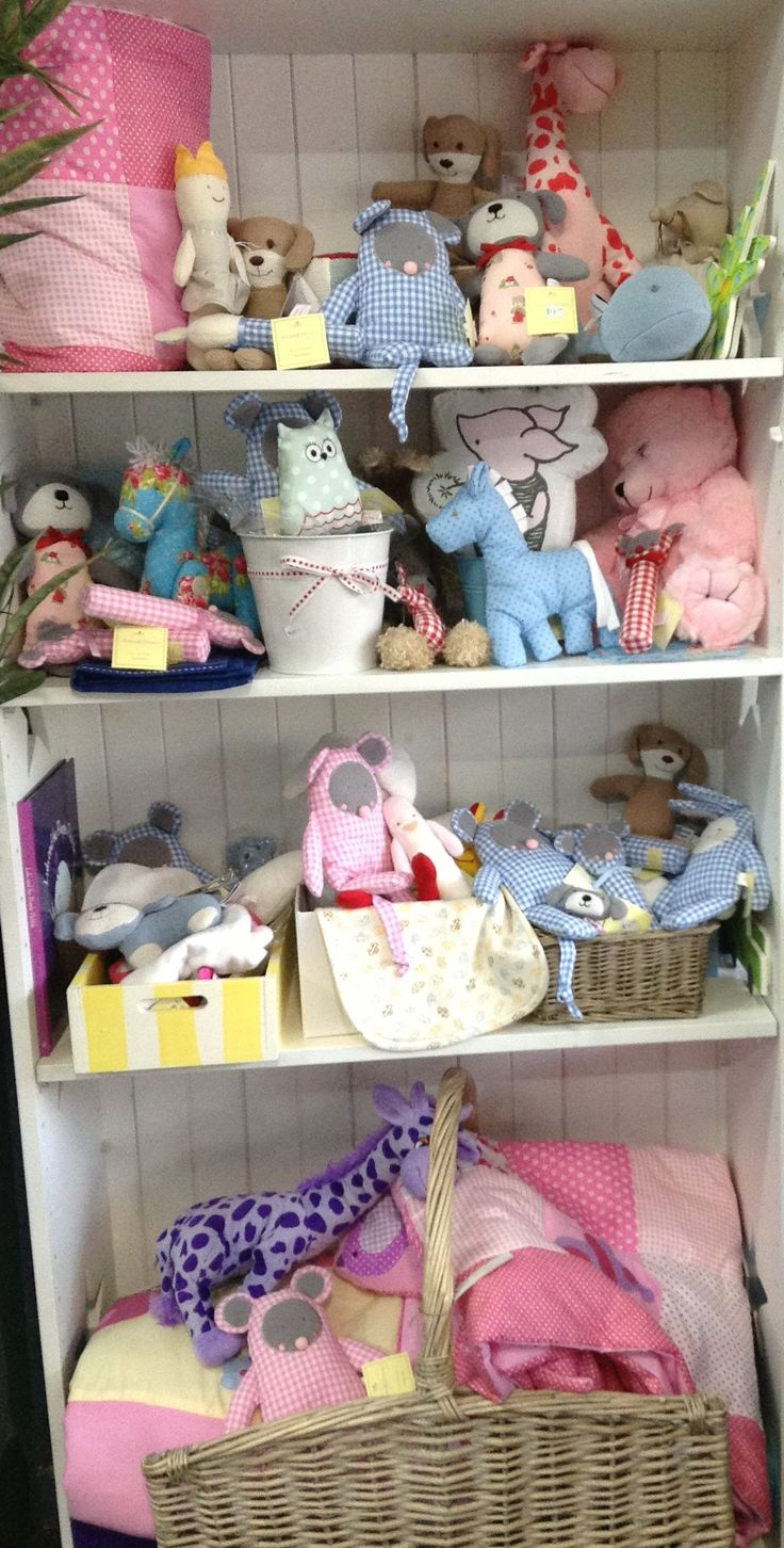 Selection of gift ideas for the New Baby.