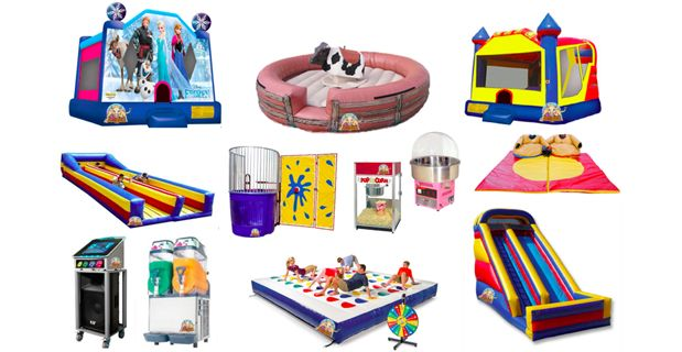 No Limit Party Hire provide everything you need for your party or event. From Sumo Suits, popcorn & fairy floss, jumping and bouncy castle, karaoke, jukebox or mechanical bull hire etc at reasonable prices.