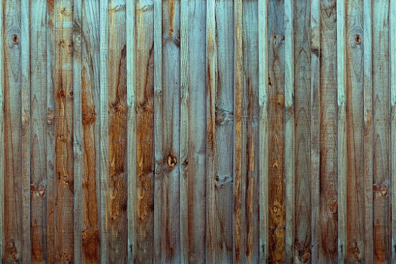 Old Wood Fence Wallpaper, self adhesive, peel and stick, removable, temporary wallpaper and custom design wall mural.  *Standard Panel Size:  24