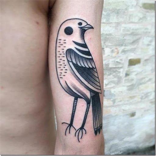 Pájaros en tonos de gris