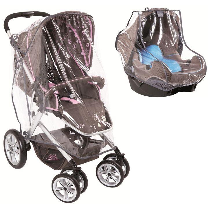 Habillage pluie pour poussette et groupe 0+ de Babybus par Autour de bébé.