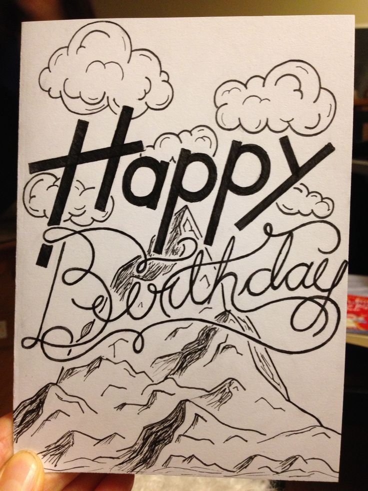 Birthday card for my mom