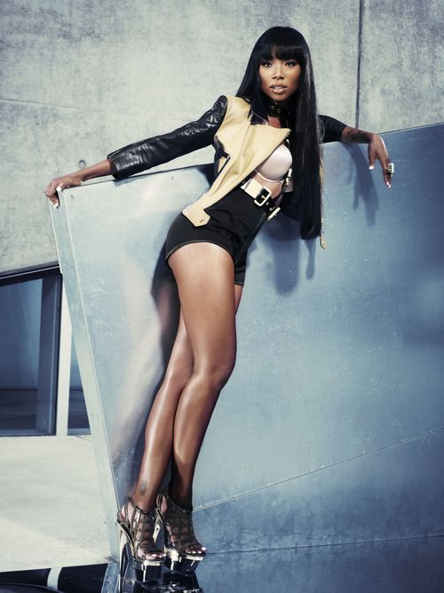 Ms. Brandy Norwood, new celeb body idol