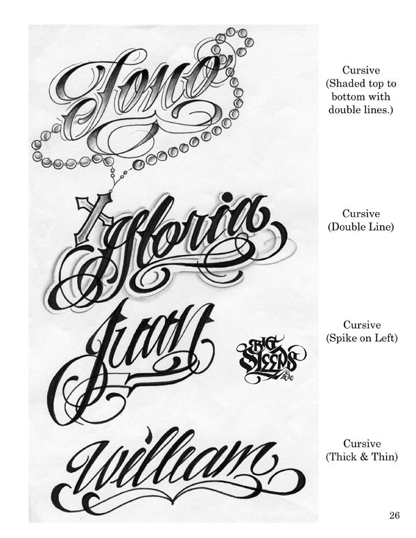 20 Best Tattoo Lettering Fonts For Download