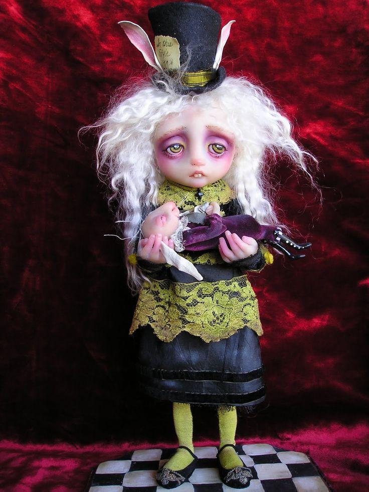 dolls by Gail Lackey