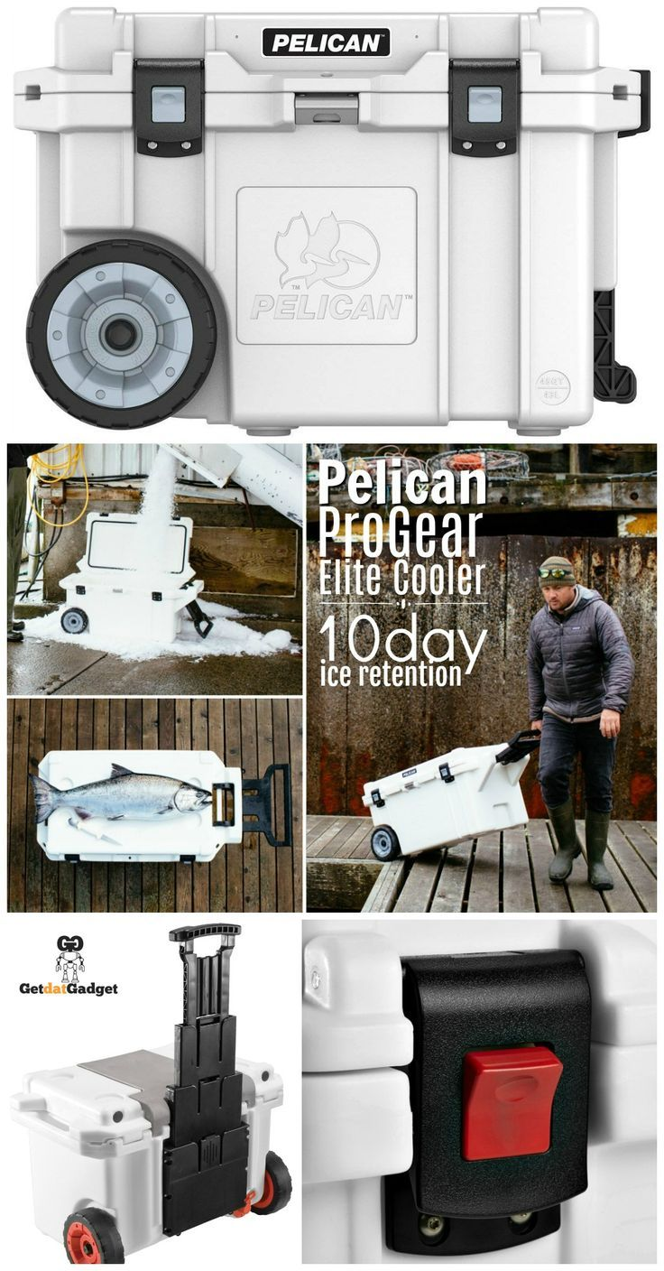 Pelican Progear Elite Coolers Engineered For Ice Retention Getdatgadget Camping Gear List Pelican Fun Days Out