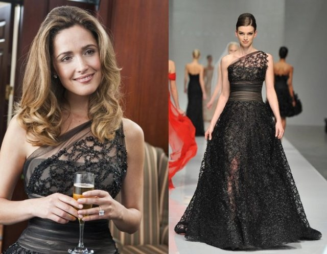 rose byrne black dress in bridesmaids the movie | Wardrobe ...