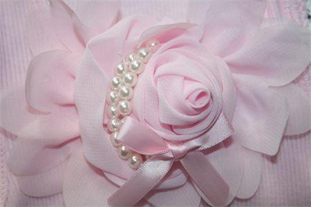 Girls Pink Singlet Top  Size 0 - 3 Months