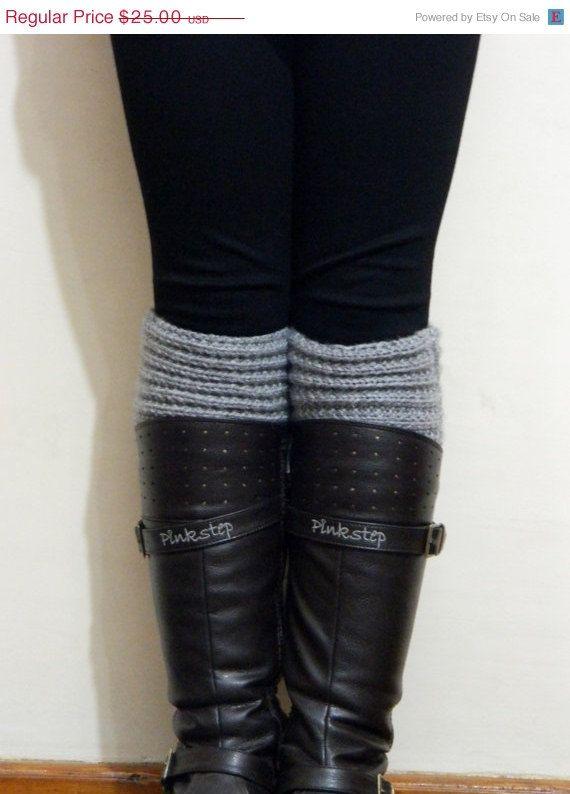 DISCOUNT Boot Cuffs Winter Fashion Boot CuffsGrey by EmofoFashion, $21.25