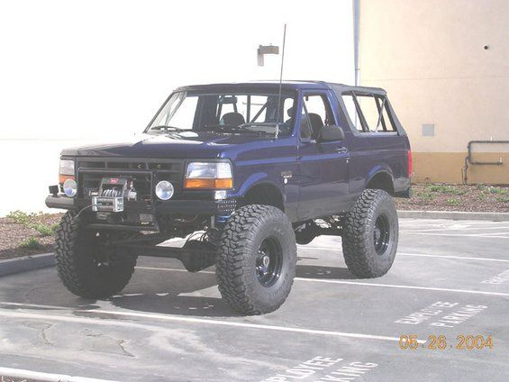 bronco off road bumpers | wanna see your front end protection (custom bumpers/grill guards ...