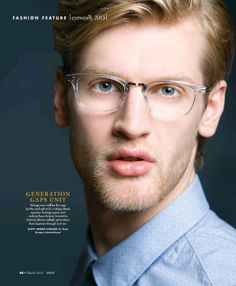 sh vintage 21 in crystal featured in 2020 magazine eyewear pinterest crystals vintage and magazines