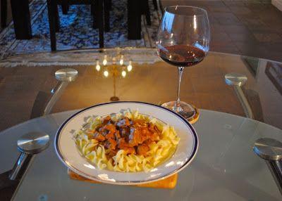 Невыразимая легкость кулинарного бытия...: Русско-американский бефстроганов