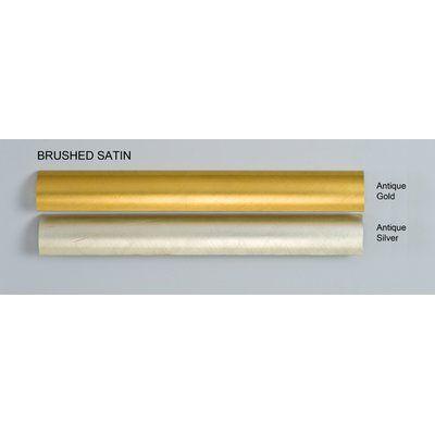 Afina Signature Recessed Medicine Cabinet with Lights Finish: Brushed Satin Gold