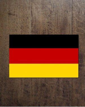 Флаг Германии.  размеры: 40х60 ; 60х90 ; 120х80 ; 90х145 см,см.  Цена флага варьируется в зависимости от его размера.  Материал: искусственный шелк (полиэстр)  Способ нанесения изображения: сублимационная печать.  Имеет карман для флагштока. магазин_bunkers