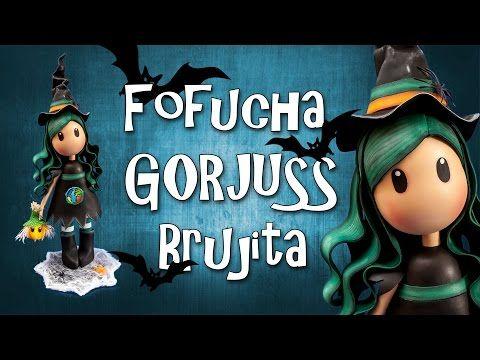 Fofucha Gorjuss Brujita - Goma Eva - Foamy - YouTube