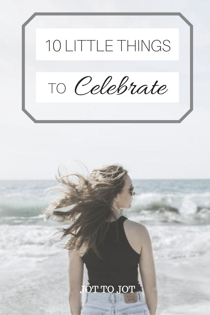10 little things to celebrate with a mini fist pump!