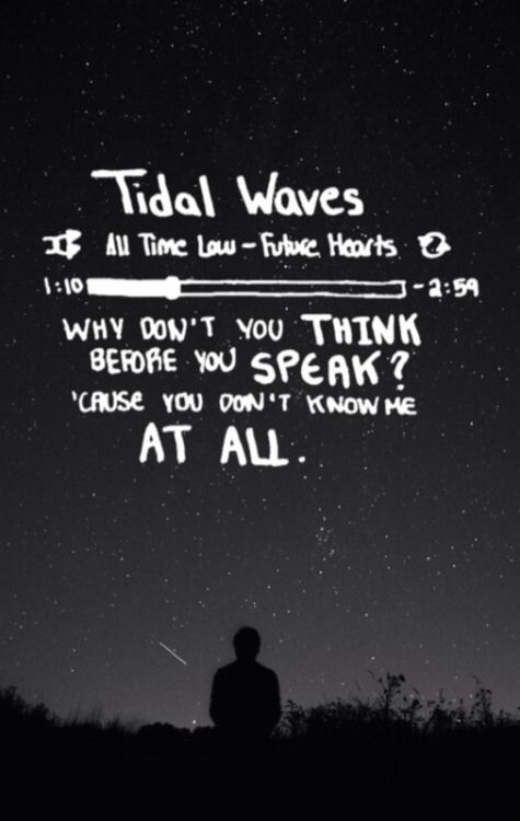 This Song Is Absolute Perfection-Tidal Waves-All Time Low