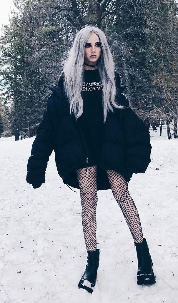 Best 34 Outfit Ideas for this Winter | Edgy outfits ...