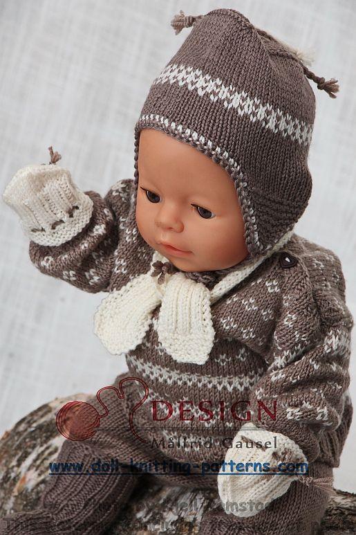 vêtements de poupées modèles de tricot à télécharger