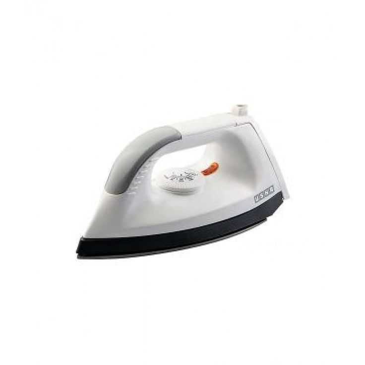 Usha EI 1602 Iron White Cool Touch Body Voltage: 240 Voltage AC 50 Hz Consumption Power: 1000 W 1000 watt for quick heating and ironing Thermal fuse for overheat cut off protection