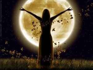 čarodějnice při měsíci