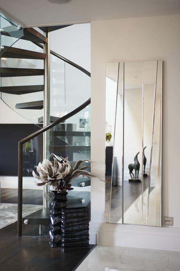 Sable Interiors, spiral staircase