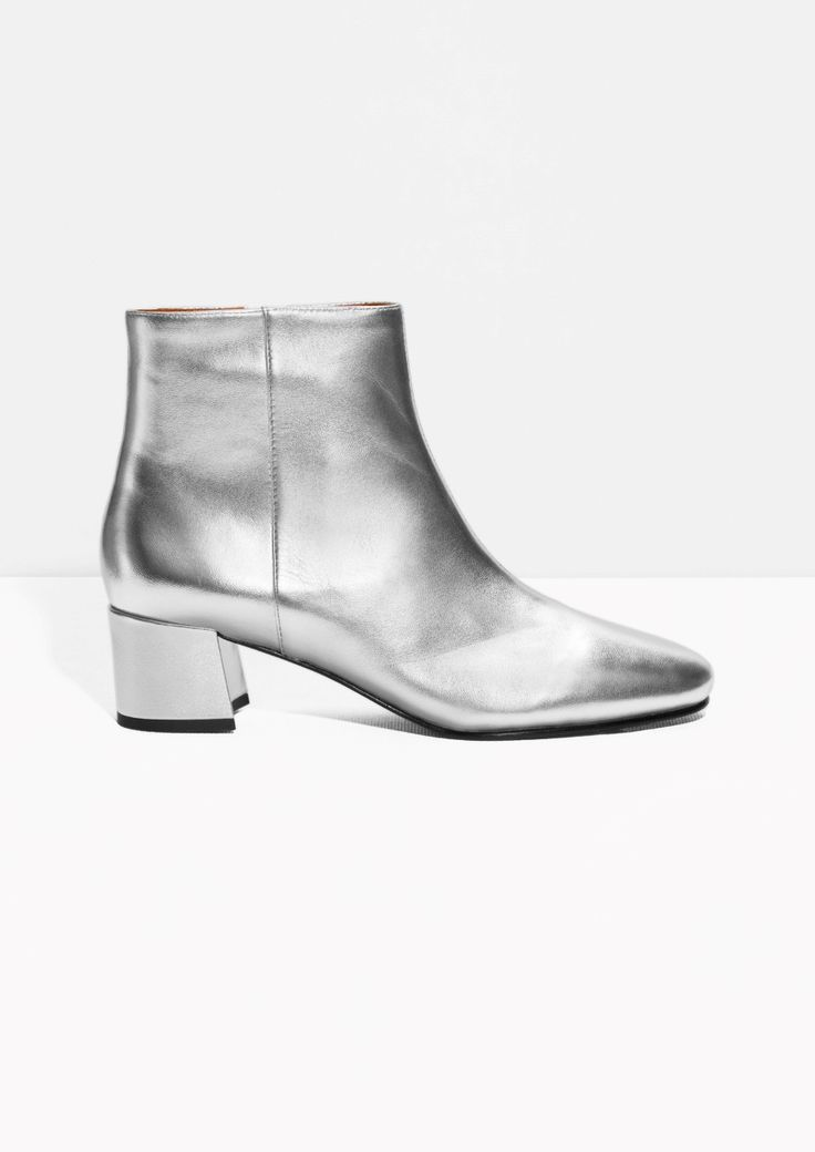 best 25 silver ankle boots ideas on silver