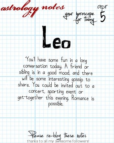 Leo Astrology Note: What phase was the moon on the day you were born?  Visit iFate.com Astrology today!