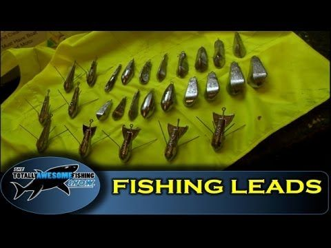 How to make fishing leads - cheap, simple and easy