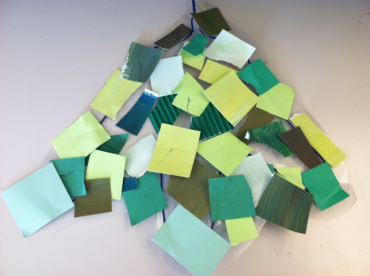 Green Leaf Collage | Toddler Thursday