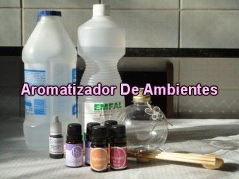 Como Fazer Aromatizador De Ambientes