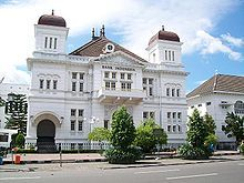The historical building of Bank of Indonesia. Yogyakarta