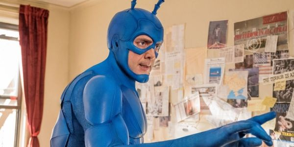 The Superhero TV Star That Inspired Amazon's The Tick, According To Peter Serafinowicz #FansnStars