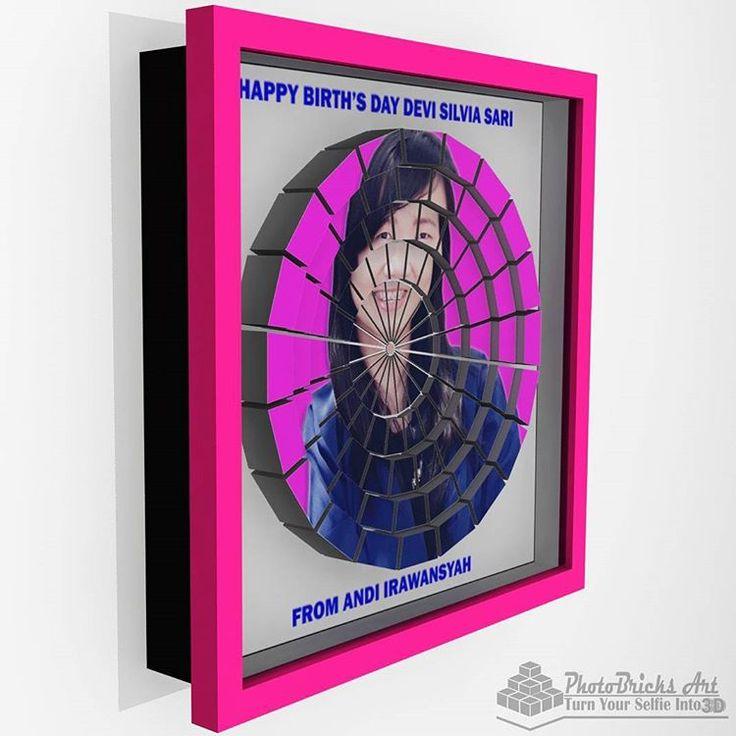CircleValley model (side view). Size 30x30 cm. Wanna purchase? Check our bio for more info. #interior #walldecor #decoration #interiordesign #creativeindustry #craft #art #gift #creative #creativeart #desainunik #desainkreatif #creativedesign...