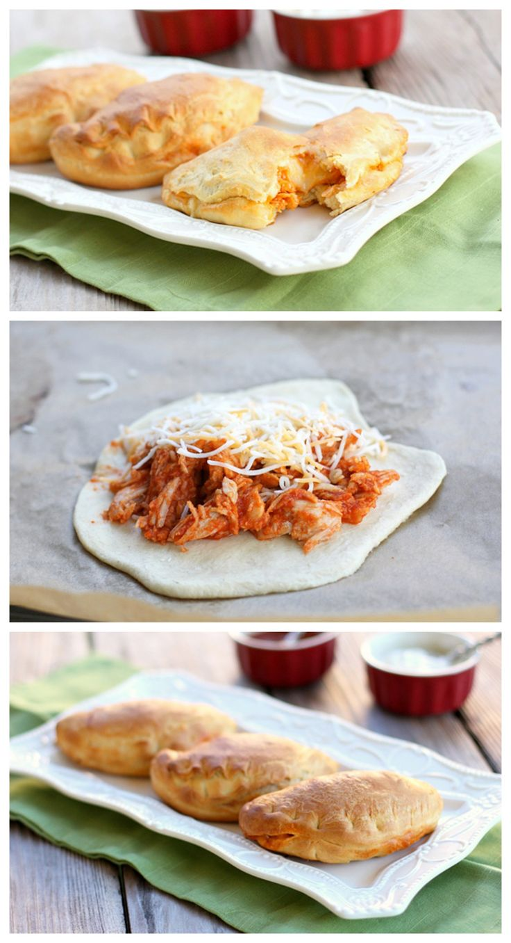 Chicken Taco Melts