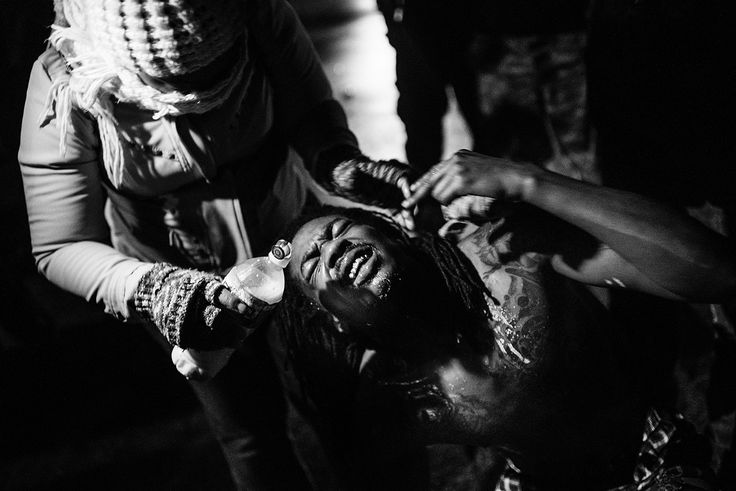 "Image from a series taken by Benjanmin Lowy, Titled ""Fury in Ferguson"""