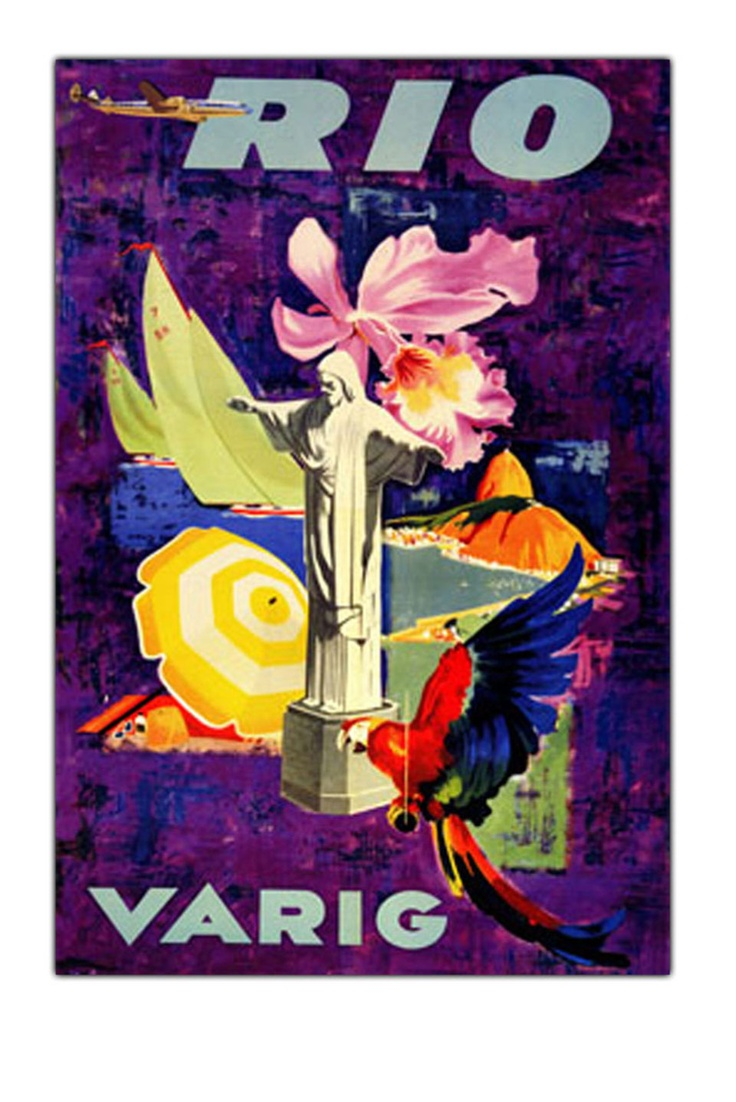 Rio Varig, Gallery Wrapped Canvas Art
