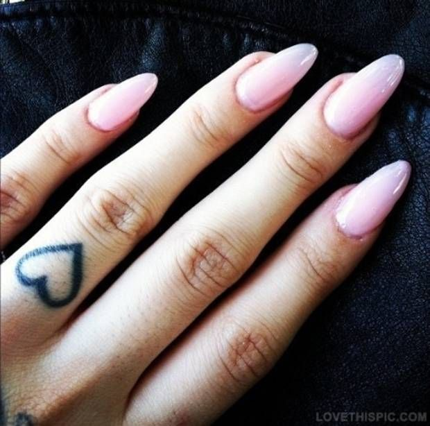 How to get long nails fast.