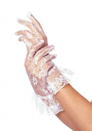 Just as with the pearls, I felt that Blanche would always be wearing gloves. I liked that these were again lace and almost seemed impractical as they were so see-through, suggesting that they are for show and not for practicality.