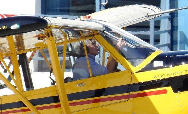 Харрисон Форд едва не разбился на своем самолете