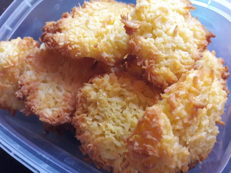 Diétás kókuszos keksz recept