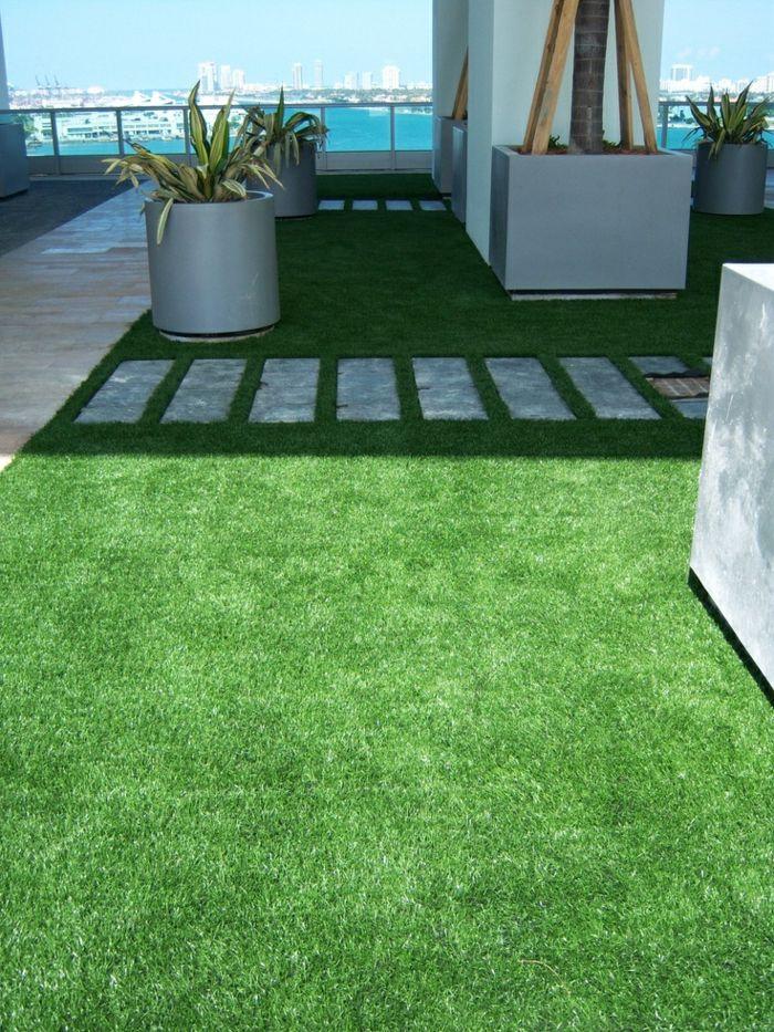 17 meilleures id es propos de gazon synth tique sur pinterest patio aux p - Pelouse synthetique pour terrasse ...